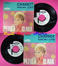 LP 45 7'' PETULA CLARK Chariot Darling cheri 1962 italy PROMO VOGUE no cd mc dvd