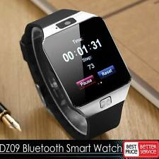 For iPhone Samsung LG Android Phone Mate Bluetooth Smart DZ09 Watch GSM SIM