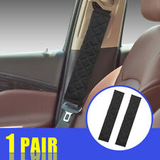2x Car Safety Seat Belt Shoulder Pad Cover Plush Cushion Comfortable Driving