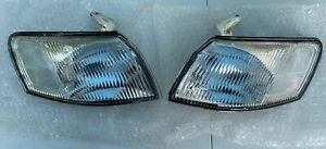 JDM Style Clear Lens Front Corner Lights Lamps For 97 98 99 Toyota Camry