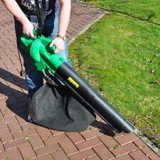 NEW 2600w Electric Garden Vac Blower Leaf Vacuum Leaf Collector Free Postage