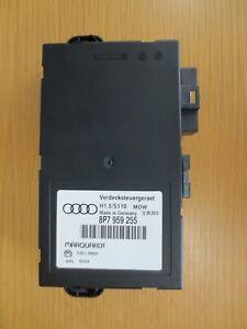 Audi A3 Convertible Roof Control Unit Cabrio Hood Module 8P7 959 255