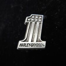 HARLEY DAVIDSON OLD CLASSIC   PIN (( # 1 WITH SHIELD)) APROX 1   INCH high
