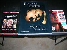 Beyond Terror Films of Lucio Fulci Plus 2 Bonus Books 1st ed 1999