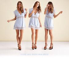 Lace V-Neck Summer Dresses for Women
