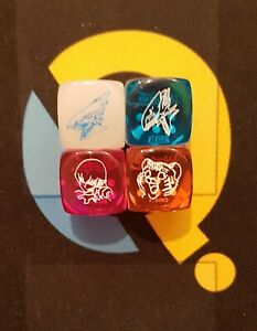 Legendary Duelist: Season 2 Collectible Dice Set - 4 Dice - LDS2 - YuGiOh