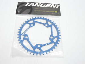 TANGENT HALO 5-BOLT CHAINRING (BLUE) (44T)