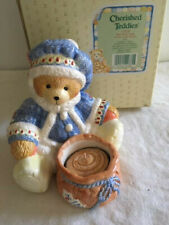 New listing Collectible Cherished Teddies - Bear with Votice Candle - with original box