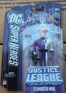 DC SUPER HEROES JUSTICE LEAGUE UNLIMITED JLU ELONGATED MAN ( NEW )