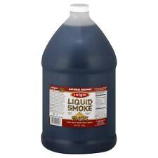 """COLGIN LIQUID SMOKE"" - Natural HICKORY BBQ Marinade! LARGE 1 US Gallon Bottle"