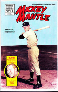 1991 Mickey Mantle Comic Vol1 Nu1 True Story