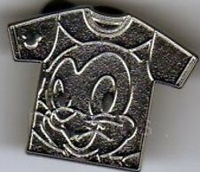 Disney Pin: WDW 2011 Hidden Mickey Series T-Shirt Collection Figaro (ALL SILVER)