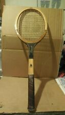 Vintage Wood 1970 Bancroft THE GOLDEN WOOD Tennis Racket Made in USA