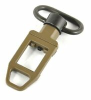 Tactical Rifle Sling Loop Low Profile QD Sling Swivel Point FDE Dark Earth