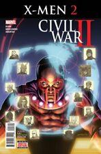 Civil War II X-Men #2 Marvel comic 1st Print 2016 unread VF/NM