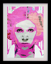 PRINCESS LEIA STAR WARS STREET A3 POP ART POSTER PRINT - LIMITED EDITION OF 100