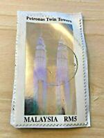 Stamp, Malaysia, RM 5, Petronas Twin Towers, Beautiful Stamp