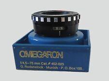 Rodenstock Omegaron 75mm f1:4,5 Enlarger Lens