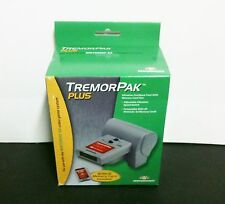 NEW WITH  BOX TREMOR PACK PLUS RUMBLE & MEMORY CARD  N64 NINTENDO 64