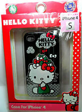 LOUNGEFLY iPhone 4/4S case, HELLO KITTY by SANRIO, Raining Bows, Authentic, NEW