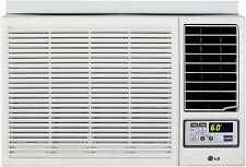 LG LW1215HR - 12,000 BTU 220V Window A/C w/ Heat: Remote & Window Vent Kit Incl.