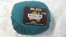 Heirloom Bliss 8 Ply #193 Teal Extra Fine Merino Wool