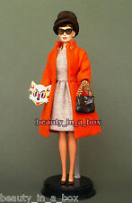 Audrey Hepburn in Cat Mask Outfit Barbie Doll Just Deboxed NO BOX Tiffany's ""