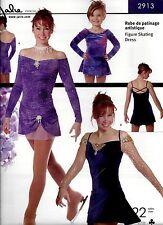 Jalie Off the Shoulder Figure Skating Dancing Dress Costume Sewing Pattern 2913