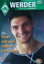 Programm 2004/05 SV Werder Bremen - FC Schalke 04