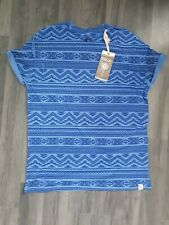 Mens Tshirt top soulcal size medium New with tags blue
