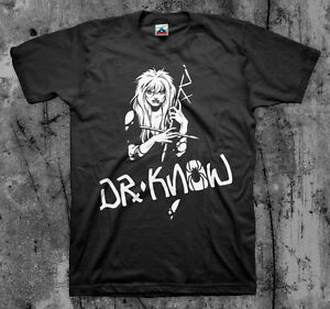 DR.KNOW 'Girl' T shirt (Mentors Vandals 7 Seconds Dayglow)