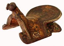 Antique islamic turkmen ottoman wooden painted horse saddle pferde Sattel 18/A