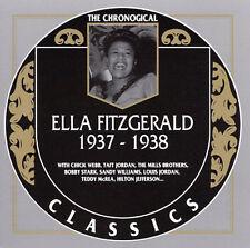 The Chronological Classics: Ella Fitzgerald 1937-1938 Fitzgerald, Ella Audio CD