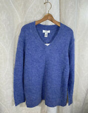 🆕Magaschoni Alpaca & Wool V-Neck Sweater Size Large