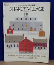 Cut & Assemble HO card Model Shaker Village Edmund V Gillon Jr 1997
