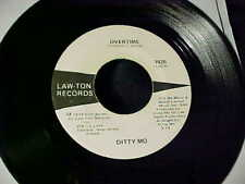 RARE OBSCURE FUNK SOUL 45 DITTY MO Yo-Yo Champ From Mississippi/Overtime LAW-TON