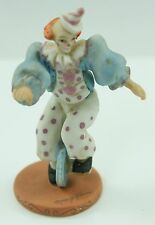 Willitt's Design Clown on Unicycle 5849 Circus Mary Keen 1986 Figurine