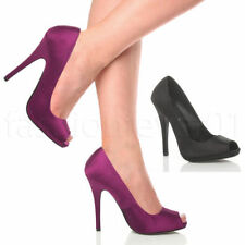 Unbranded Satin Slim Heels for Women