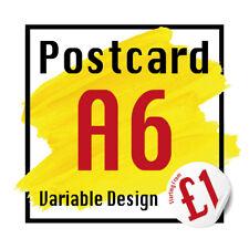 More details for postcards printing high quality a6, 350 gsm postcard 24hr dispatch