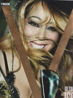 V Magazine Ultimate Icon Mariah Carey in Bloom #112 Spring 2018