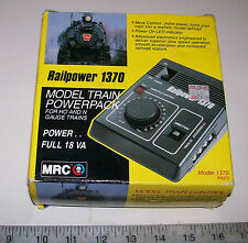 MRC Railpower 1370 DC Transformer / Power Pack / Controller G HO N Z TT O
