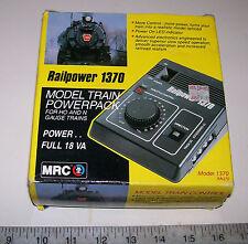 MRC Railpower 1370 DC Transformer / Power Pack / Controller G HO N Z TT O