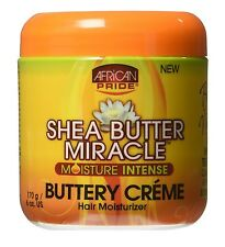 African Pride Shea Butter MIRACLE Hidratante INTENSE Mantecoso CREMA 175g/170ml