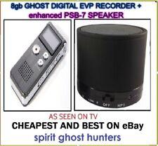 Ghost EVP Voice Recorder + Speaker Spirit Hunt Hunting Equipment - UK STOCK