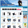 Solar Panel Product Store - Online Business Website For Sale! Solar Green Eco!