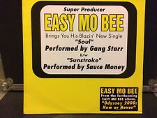"Easy Mo Bee 12"" Soul Performed By Gang Starr VG++ Orange Vinyl Rare Promo"