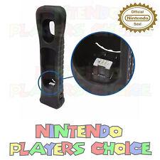 New Nintendo OEM Authentic Wii Motion Plus Adapter Sensor & Black Silicon Case