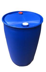 Kunstofffass 200L Regentonne Spundfass Behälter Weithalsfass Fass Ca 220 Liter