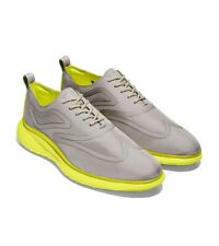 NEW Cole Haan 3.ZERØGRAND Fuse Oxford Men's Ironstone Textile Grey Shoes Size 10