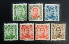 nystamps Iceland Stamp # 110/121 Mint Og H $45 J15y912